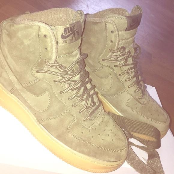 high Nike olive Air green Force 1 kXn0w8OP